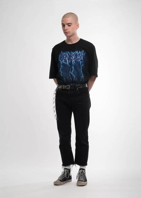 Doublet Black Deadstock Embroidery T-Shirt