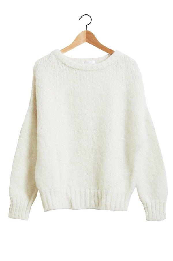 Atelier Delphine Lark Sweater, Alpaca Wool Blend, Cream