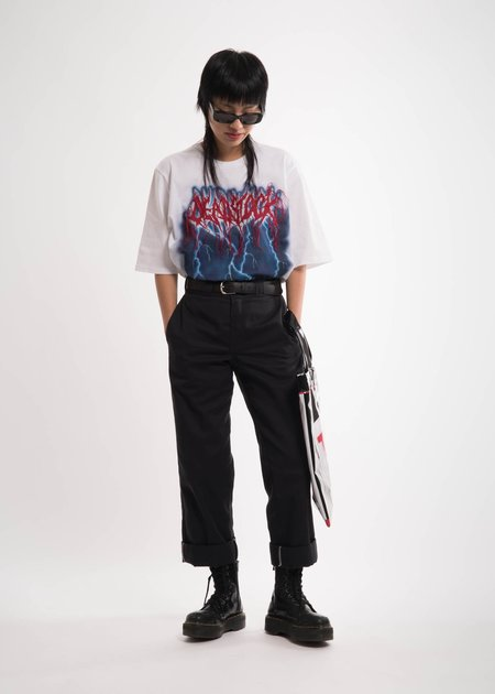 Doublet White Deadstock Embroidery T-Shirt