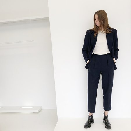 Johan Vintage Two Piece Navy Suit