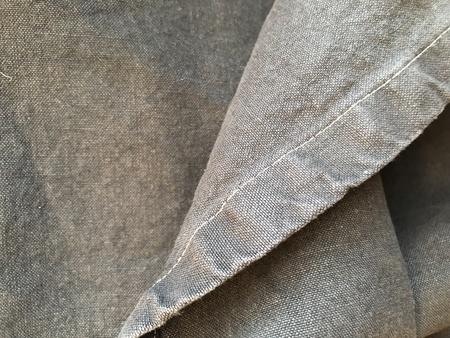 Jungmaven 100% Hemp Canvas Blanket - WASHED BLACK
