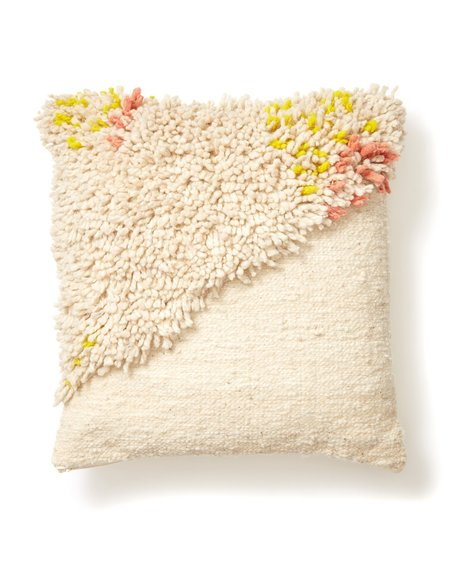 MINNA Split Shag Pillow