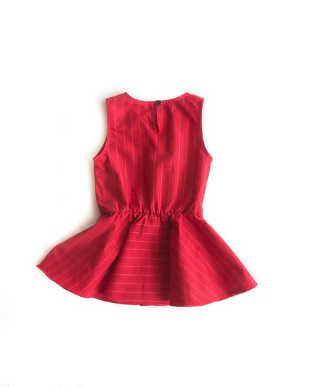 Kids Telegraph Ave Muse Dress - Heart Throb Red