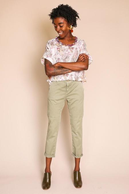 AG Jeans Caden Trouser in Sulfur Dry Cypress