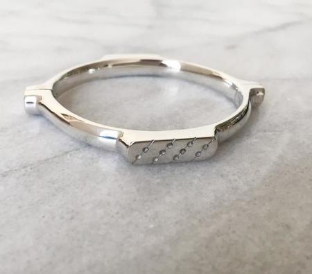 Atha Subterannean Swing Bracelet In Silver