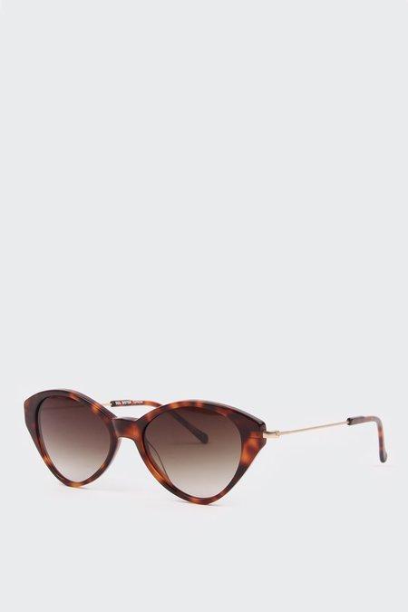 Kaibosh Sol Sister Sunglasses - Tortoise Shiny