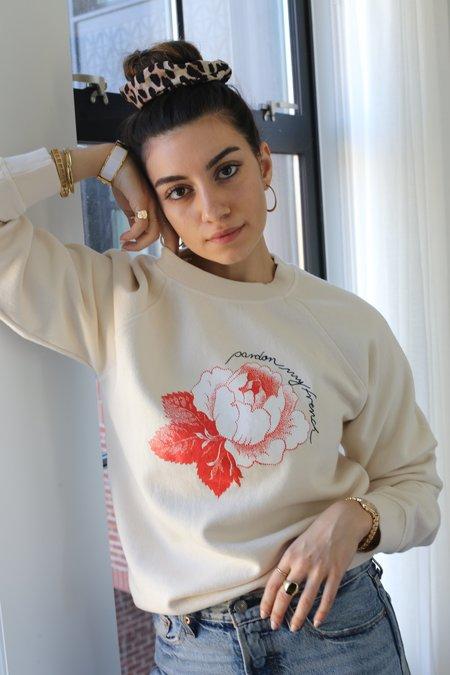 Ganni Lott Isoli Sweatshirt - Rose