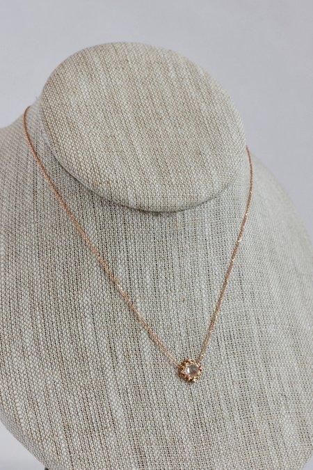 Sirciam Sapphire Burst Necklace
