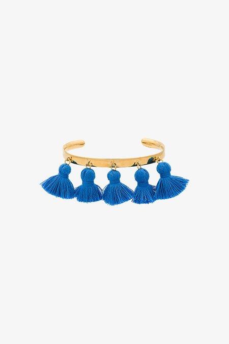 MARTE FRISNES RAQUEL TASSEL BRACELET - BLUE