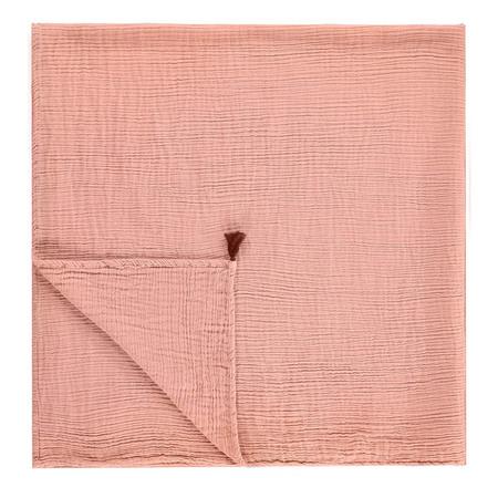 Kid's Annabel Kern Nomade Cotton Gauze Large Swaddle Blanket - Blush