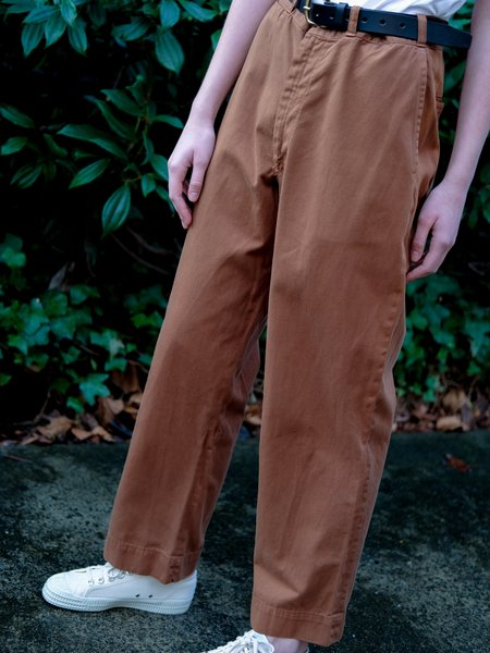 Shop Boswell VINTAGE BROWN PANTS