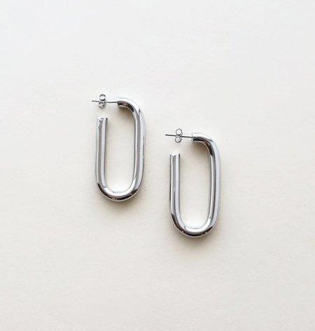 Machete Maya Earrings in Sterling Silver