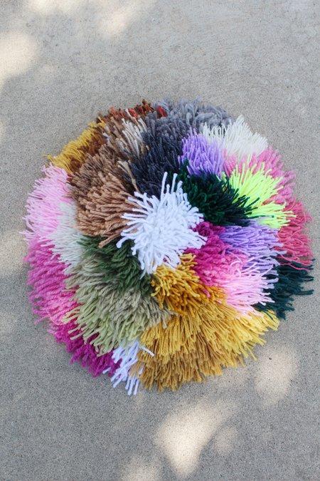 Alpaca Handmade Fringe Pillow Fiesta
