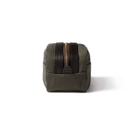 Filson Rugged Twill Travel Kit - Otter Green