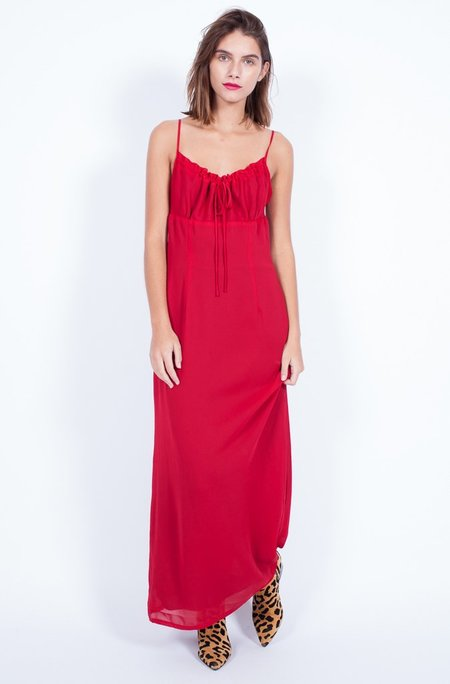 Yo Vintage! Red 90s Dress - Medium