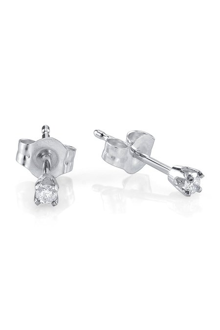 Gabriela Artigas White Prong Earrings