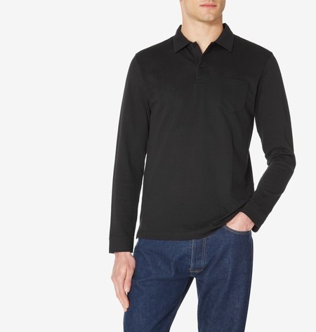 Long Sleeve Riviera Polo