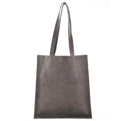 Tsatsas Grey Suede Strato Bag
