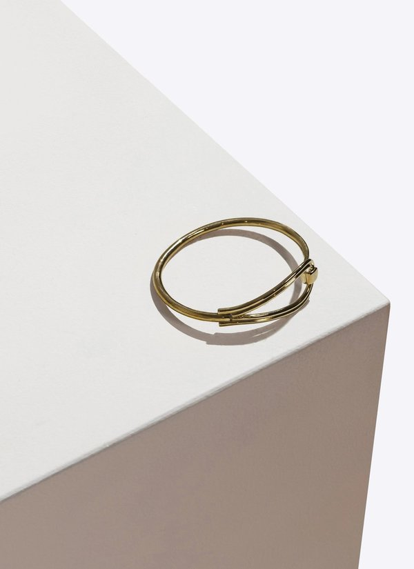 Pamela Love Phoebe Bracelet in Brass