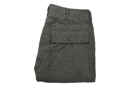 Engineered Garments Fatigue Pant - Dark Heather Grey Twill