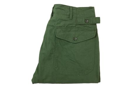 Engineered Garments Ground Pant - Olive Ripstop