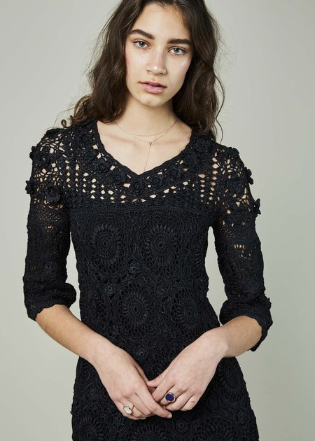Spencer Vladimir Crochet Lily Dress
