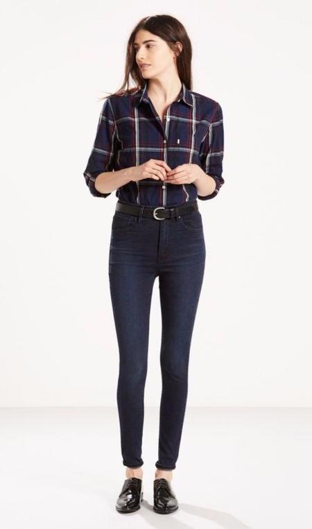 Levis Mile High Skinny Jean