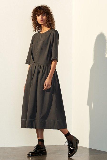 Kowtow Chorus Dress - Charcoal