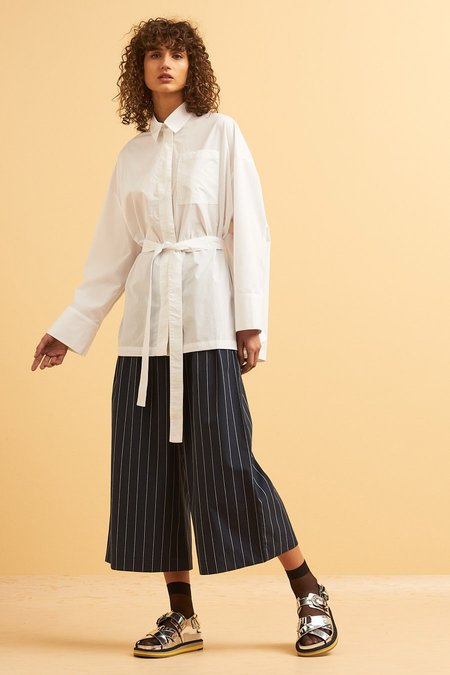 Kowtow Lines Shirt - White