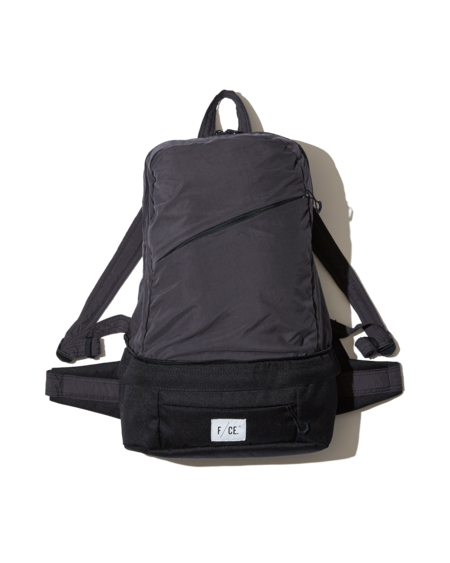 Unisex F/CE 2-Way Packable Waist & Day - Black