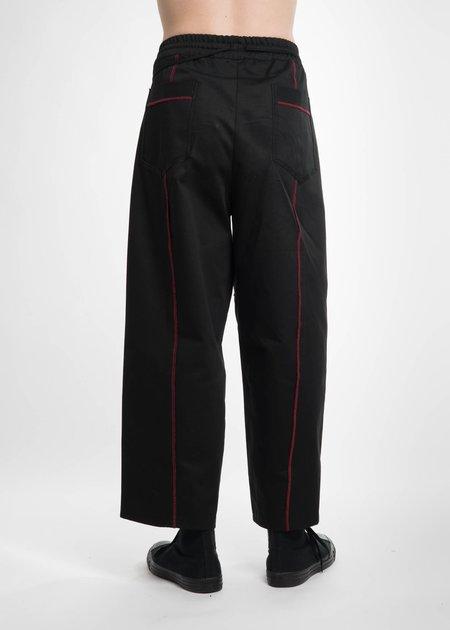 Komakino Black Elasticated I/O Trousers