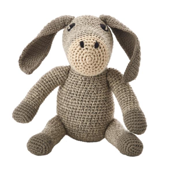Kid's Anne-Claire Petit Donkey Toy- Dodo Les Bobos