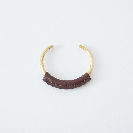 Crescioni Kiva Bracelet - Chocolate