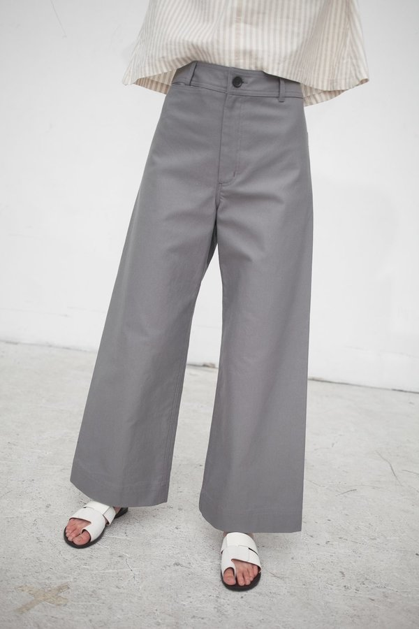 Creatures of Comfort Maison Pant in Sahara Washed Black