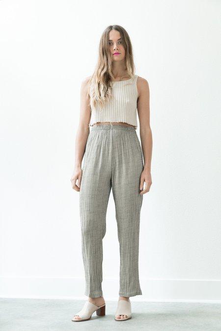Backtalk PDX Vintage Grey Textured Lounge Pant