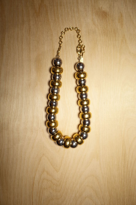 Alynne Lavigne 2-Tone Hinge Necklace