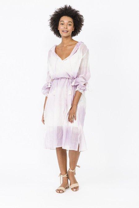 Lemlem Berhan Bohemian Dress - Lavender