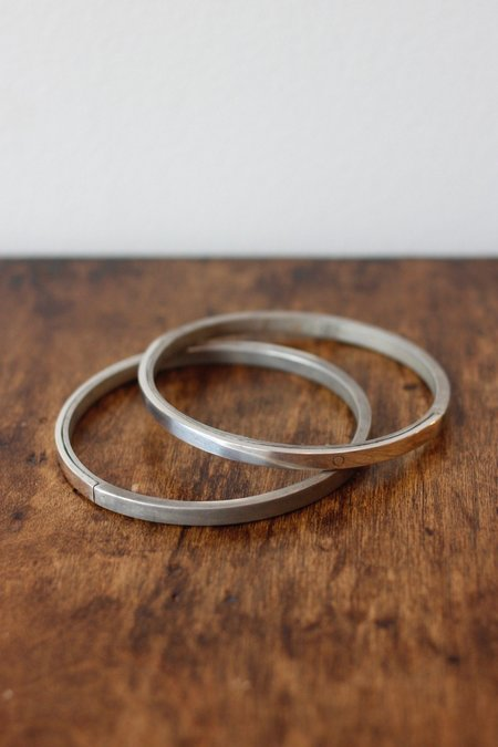 Parts Of Four Sistema Silver Bangle