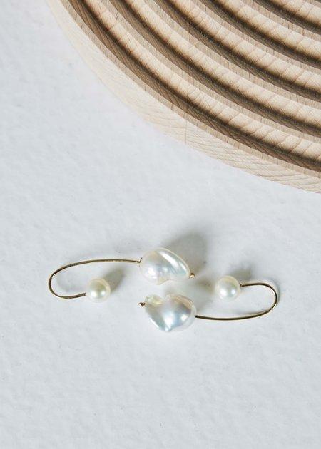 White / Space Empress Earrings