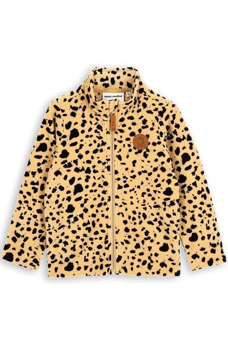 Kids Mini Rodini Fleece Spot Jacket