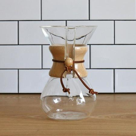 Chemex Coffeemaker With Wood Collar