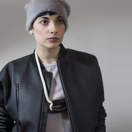 Valérie Dumaine Raven Coat