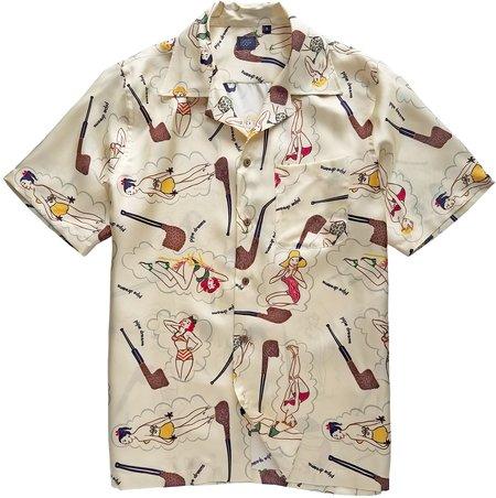 David Hart pin-up camp shirt