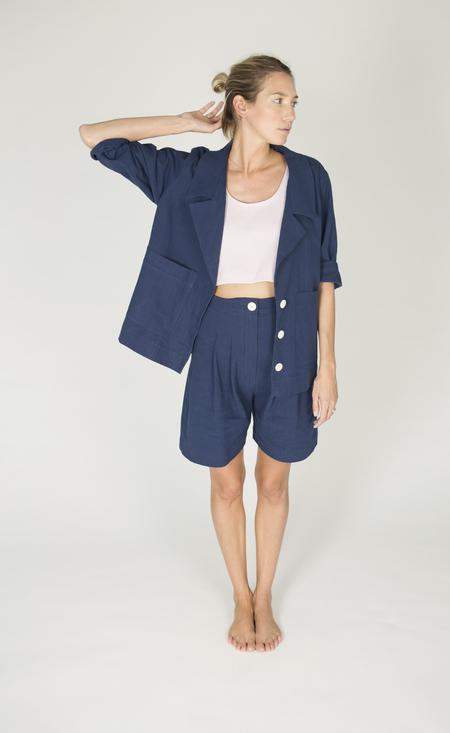 Ilana Kohn Boyd Shorts in Royal
