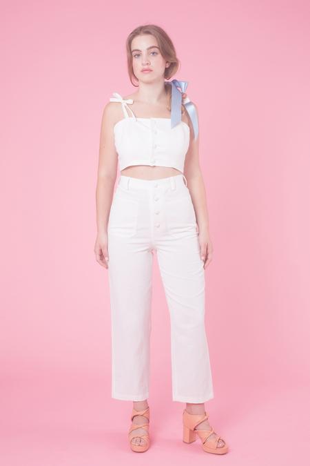 Samantha Pleet Chorus Pants in White