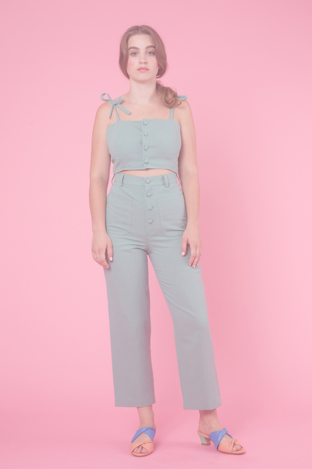 Samantha Pleet Chorus Pants in Sage