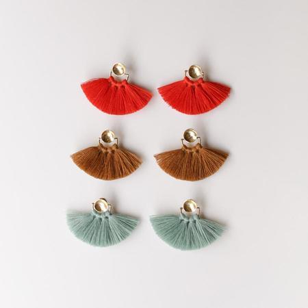 Ora-C Odrey Earrings - Brass