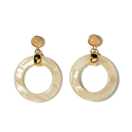 Lizzie Fortunato Sun Bleach Hoops