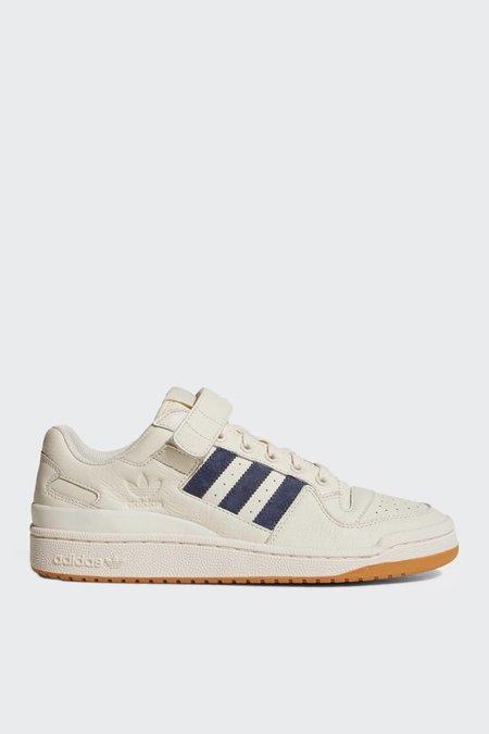 Adidas Orginals Forum Low - Chalk White/Trace Blue/Gum