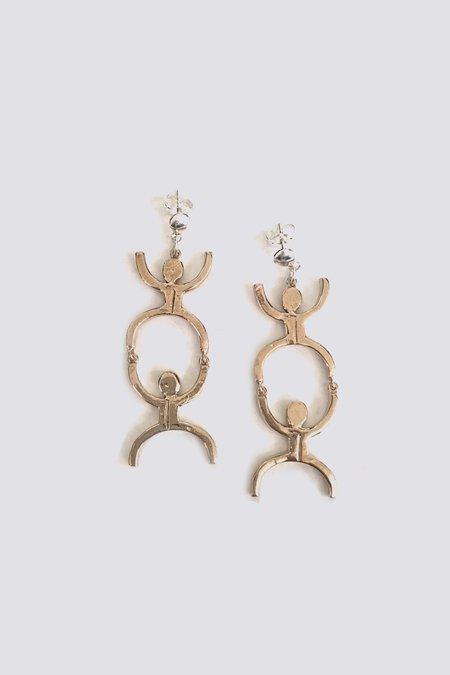 Open House Bronze Fella Earrings